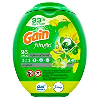 Deals on Gain flings Laundry Detergent Pacs Plus Aroma Boost