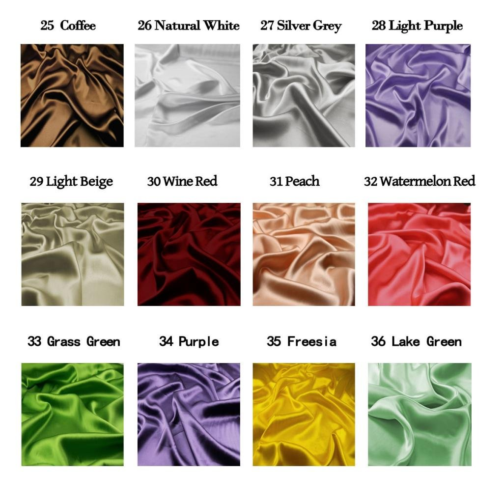F.d.silk Purple 100/% Pure Silk Chiffon Fabric by The Yard Purple Ch-034 48 Colors
