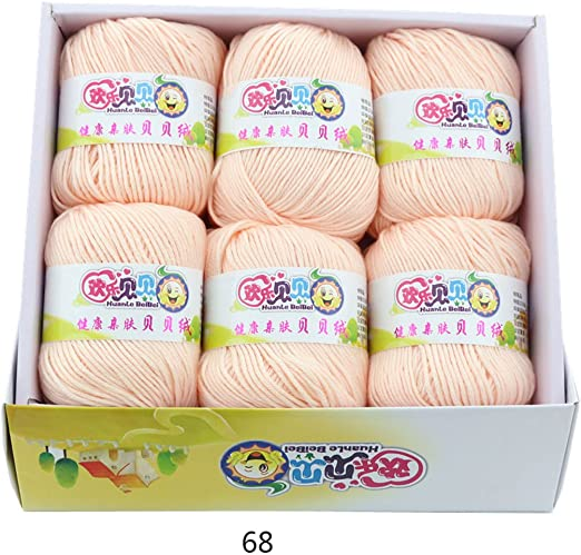 Ovillos Lanas Hilo, Yarns Double Knit Starter Bumper Pack | 6X 50g ...