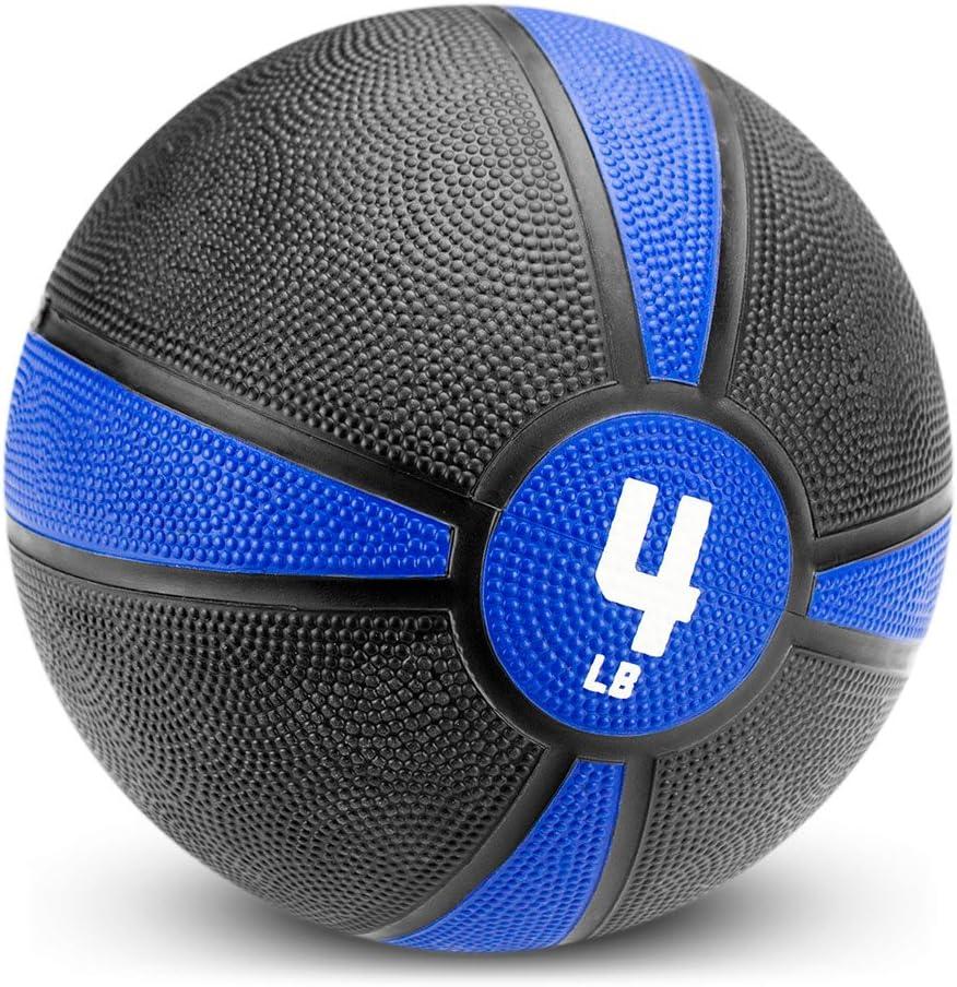 Crown Sporting Goods Tuff Grip Rubber Medicine Ball Amazon's Choice