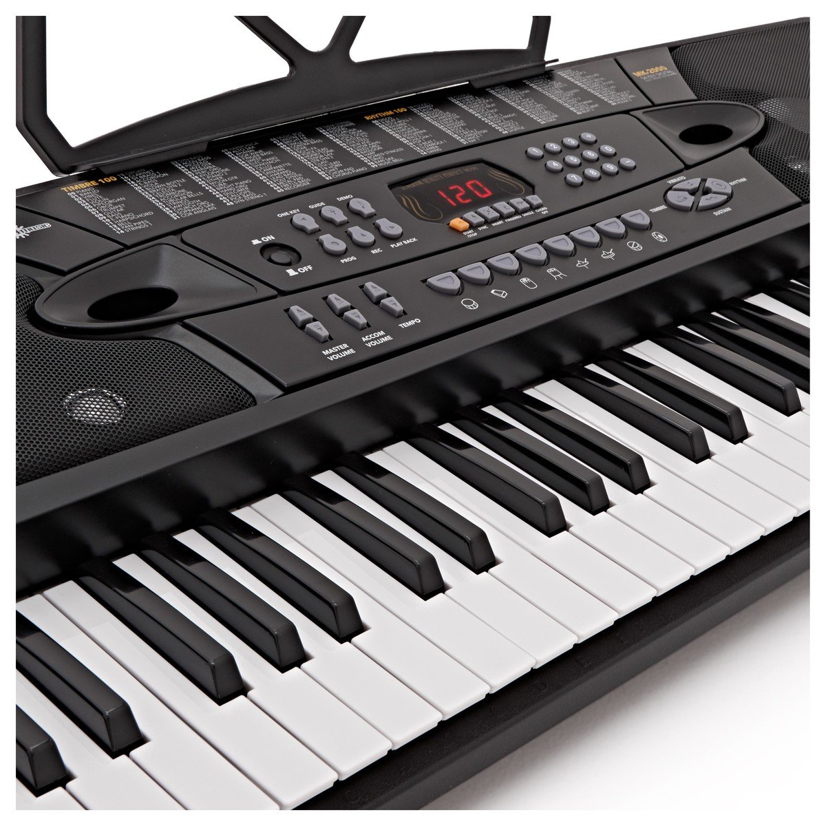 MK-2000 54-key Portable Keyboard by Gear4music