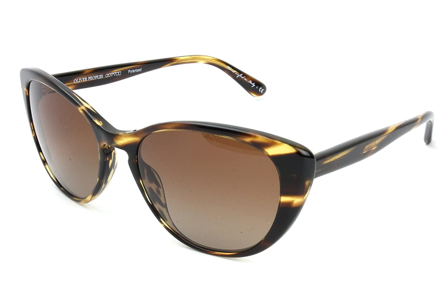 e390fb7ae0 Amazon.com  Oliver Peoples 5239S 1003T5 Tortoise Shell Haley Cats Eyes  Sunglasses Polarised  Clothing