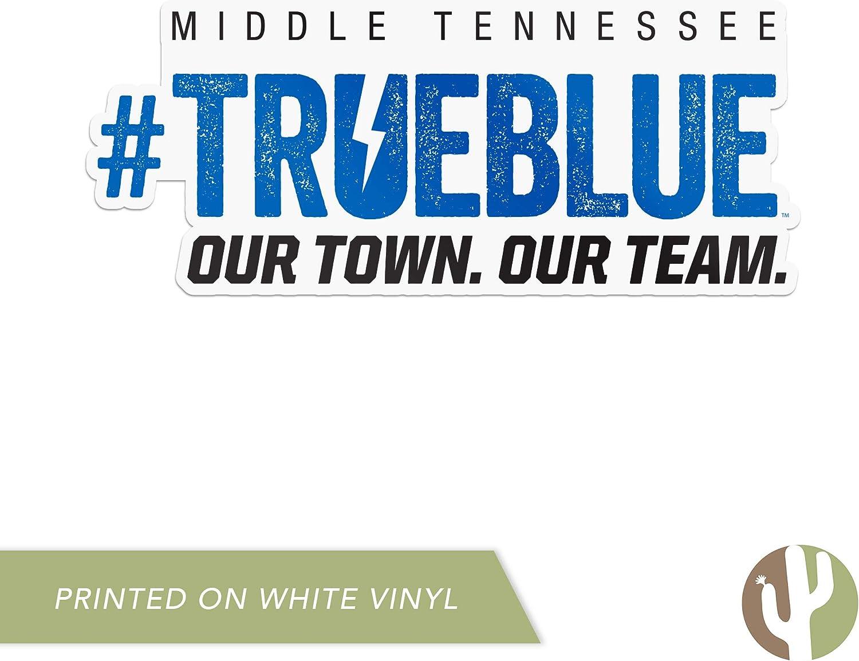 Sticker - 15 Middle Tennessee State University MTSU Blue Raiders NCAA Vinyl Decal Laptop Water Bottle Car Scrapbook