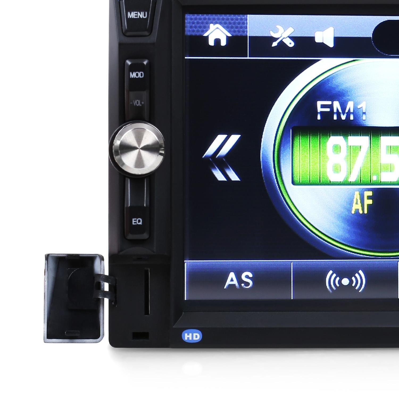 auna multimedia MVD-400 CP /• Autoradio /• Car HiFi /• Touchscreen 7 /• 4x45W /• BT /• Android Auto /• 2 DIN /• Display TFT a Colori /• Vivavoce /• Nera
