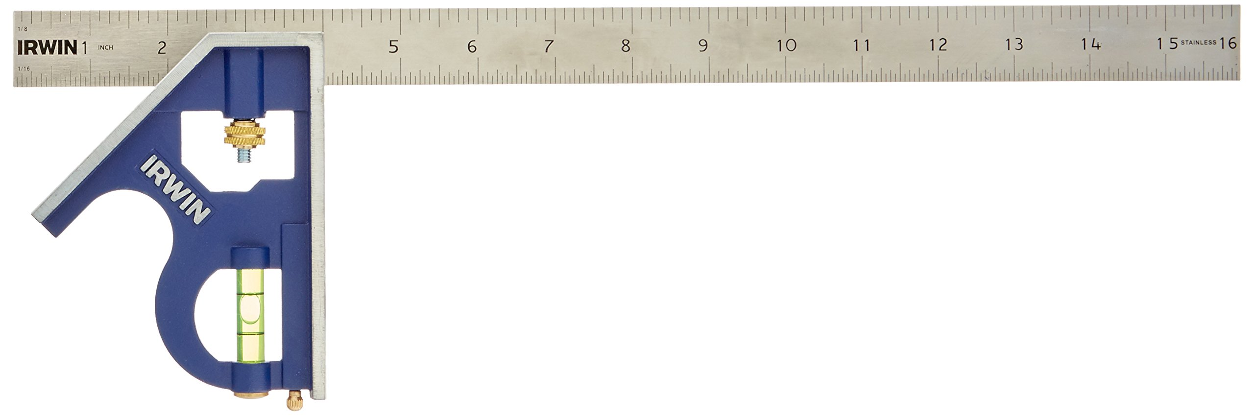 IRWIN Tools Combination Square, Metal-Body, 16-Inch (1794471) by Irwin Tools (Image #2)