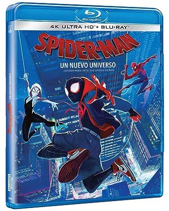 Spider Man Un Nuevo Universo 4k Blu Ray Shameik Moore Jake