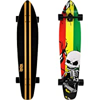 DINBIN 42 Inch Drop Through 8 Ply Maple Complete Longboards Skateboard,Cruising,Freeride Slide,Freestyle and Downhill…