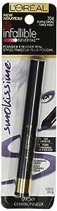 Loreal Paris Infallible Smokissime Purple Smoke 704 Powder Eyeliner -- 2 per case.