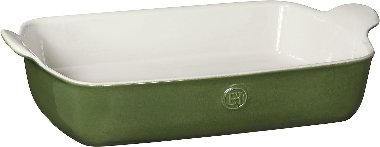 Green Emile Henry HR Modern Classics Large Rectangular Baker 13 x ...
