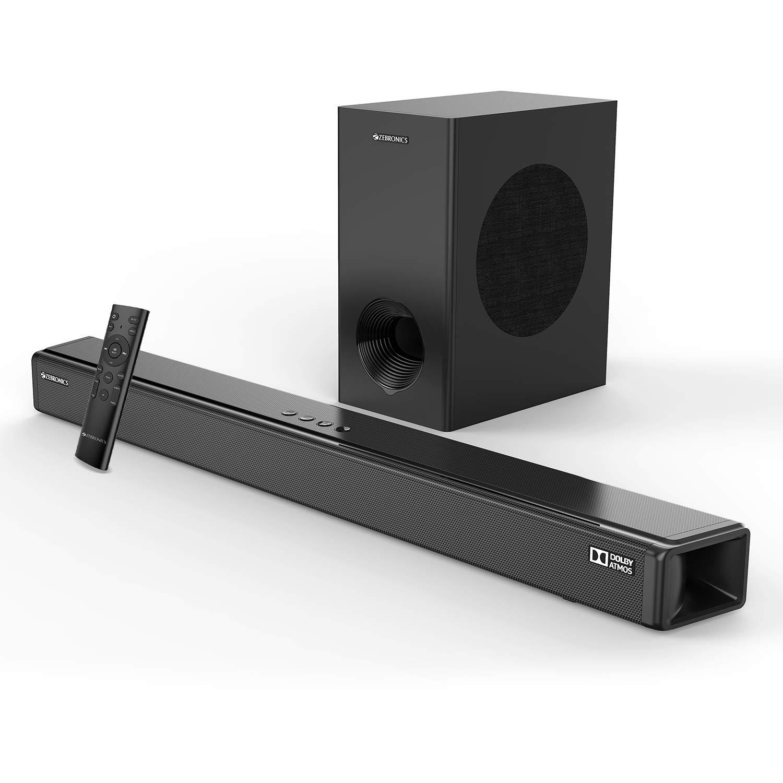 ZEBRONICS Zeb-Juke Bar 9800DWS Pro Dolby Atmos Soundbar Home Theatre