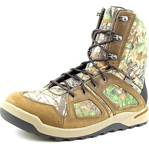 076688ce437da Amazon.com: Danner Steadfast Boot, 8in, Realtree Xtra Green, Size ...