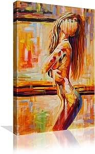 Amazon.com: Nude Women Fine Art Sexual Decor Painting On