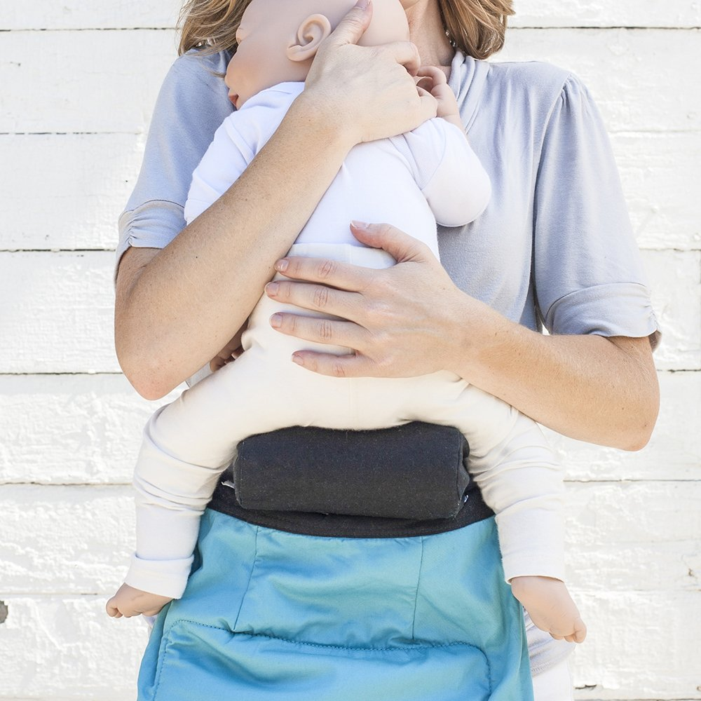 TwinGo Carrier Infant Insert, Allow Baby to comfortably sit in your TwinGo Carrier as early as 7lbs in the Front Carry Position, Provides Ergonomic Hip and Spine Positioning for Newborns - 2pk