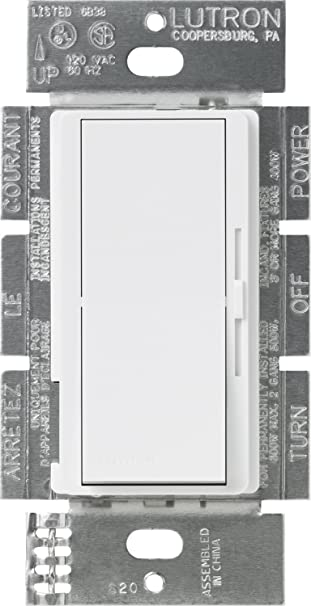 Lutron dvfsq f wh diva 15 a 3 way single pole 3 speed fan control lutron dvfsq f wh diva 15 a 3 way single pole 3 mozeypictures Images