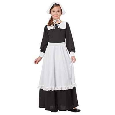 California Costumes Pilgrim Girl Child Costume, Small: Toys & Games