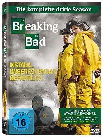 Breaking Bad Die Komplette Dritte Season Amazonde Bryan