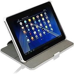 StilGut® UltraSlim Case V2, custodia con funzione di supporto per Samsung Galaxy Tab 2 7.0, bianco