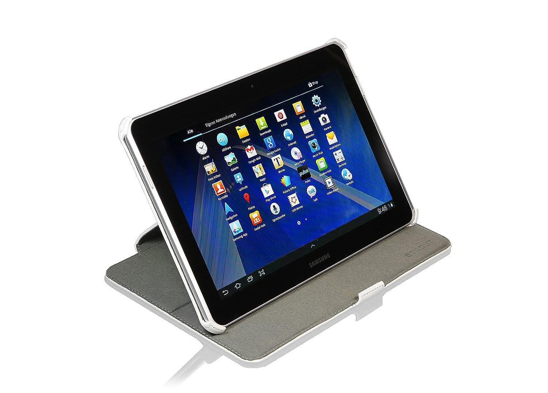 StilGut UltraSlim Case V2, Funda con Funcion de Soporte para el Original Samsung Galaxy Tab 2 7.0, Blanco