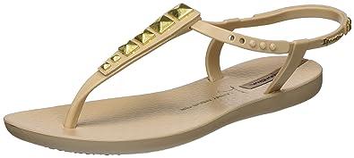 4d953be80998 Ipanema Women s Ipanema Lenny Rocker Fem Open Toe Sandals beige Size  4
