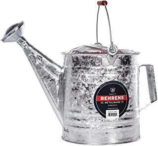 product image for Behrens Can, 3 gal, Steel Silver Steel 212RH - 1 Each