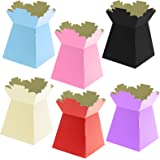 30x LIVING VASE/ HAND TIED/ AQUA VASE FLORIST TRANSPORT BOX ASSORTED PEARLISED COLOURS by Living Vase