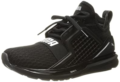 PUMA Men's Ignite Limitless Cross-Trainer Shoe, Black, ...