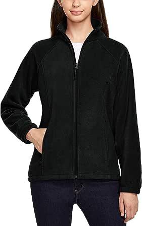 TSLA Women's Full Zip Polar Fleece Jacket/Vest, Warm Casual Winter Vest Jacket, Thermal Mountain Outdoor Jacket/Vest