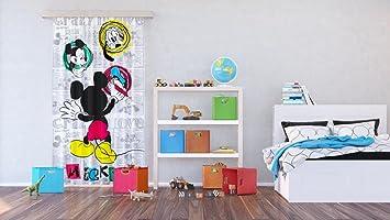 Amazon.de: AG Design FCPL 6142 Disney Mickey Mouse, Kinderzimmer ...