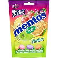 Mentos Mix Frutas, Caramelo Masticable - 7 bolsas