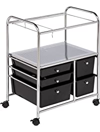 Storage Drawer Carts Amazon Com Office Furniture