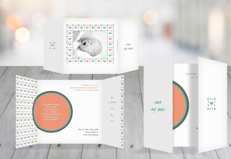 Kartenparadies Danksagung für Geburt Baby Dankeskarte Dankeskarte Dankeskarte Herzrahmen, hochwertige Danksagungskarte Baby inklusive Umschläge   10 Karten - (Format  145x145 mm) Farbe  Lila B01N6WW1GE | Kompletter Spezifikationsbereich  | Ästhetisches Aussehen  | Ho 123eaa