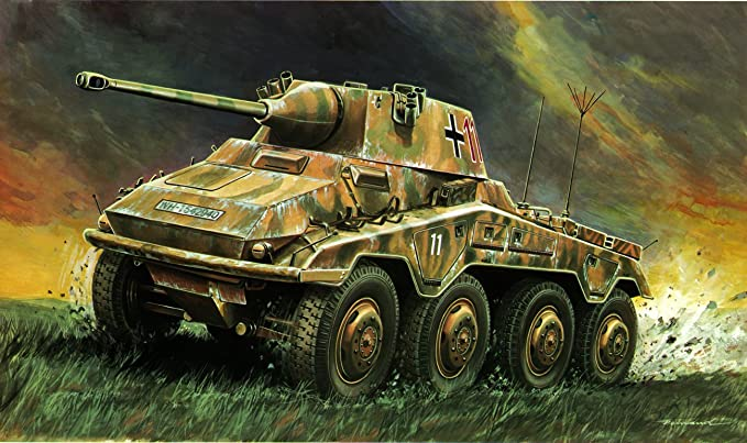 Italeri - I202 - Maquette - Chars d'assaut - SD KFZ 234/2 Puma - Echelle 1:35