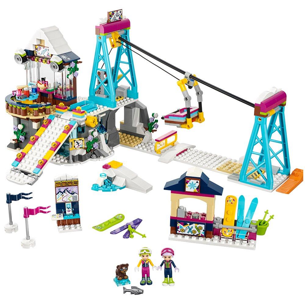 LEGO Friends Snow Resort Ski Lift 41324 Kit de construcción (585 piezas)
