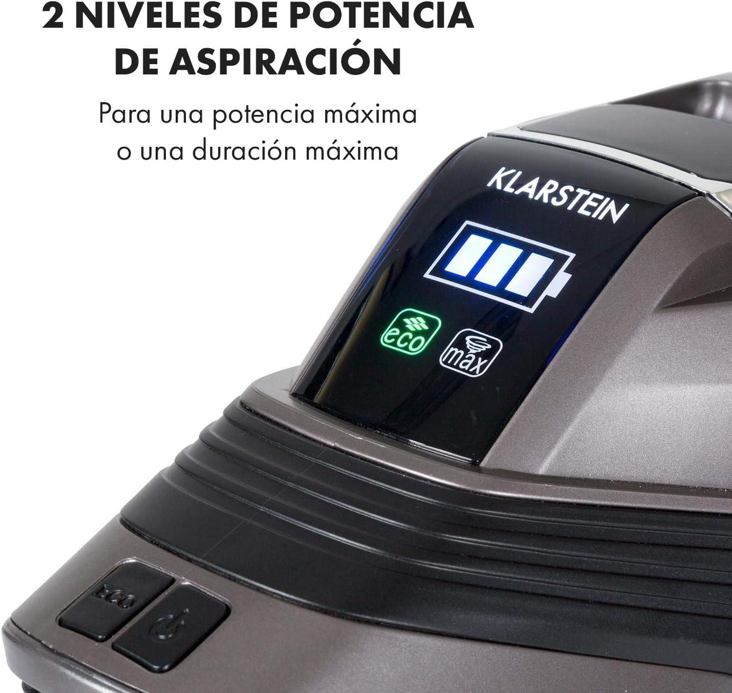 Klarstein Cleanbutler 3G Turbo Aspiradora de batería - Aspiradora ...
