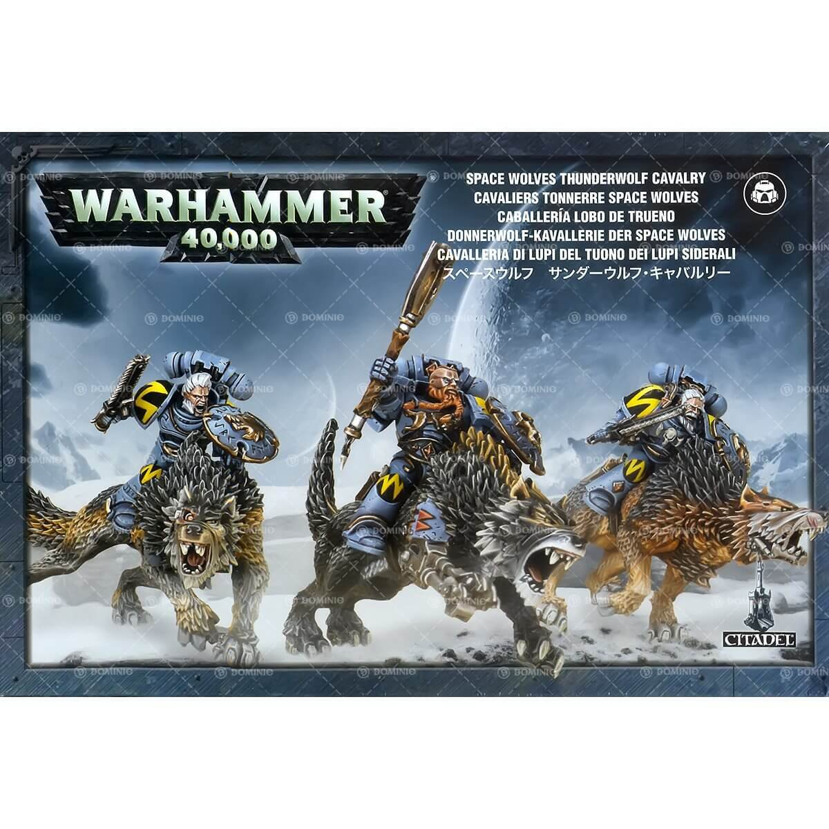 Games Workshop GW53-09 SPACE WOLVES THUNDERWOLF CAVALRY