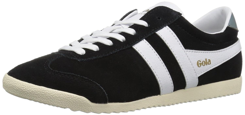 Gola Women's Bullet Suede Fashion Sneaker B01FAFVQ52 8 B(M) US|Black/White