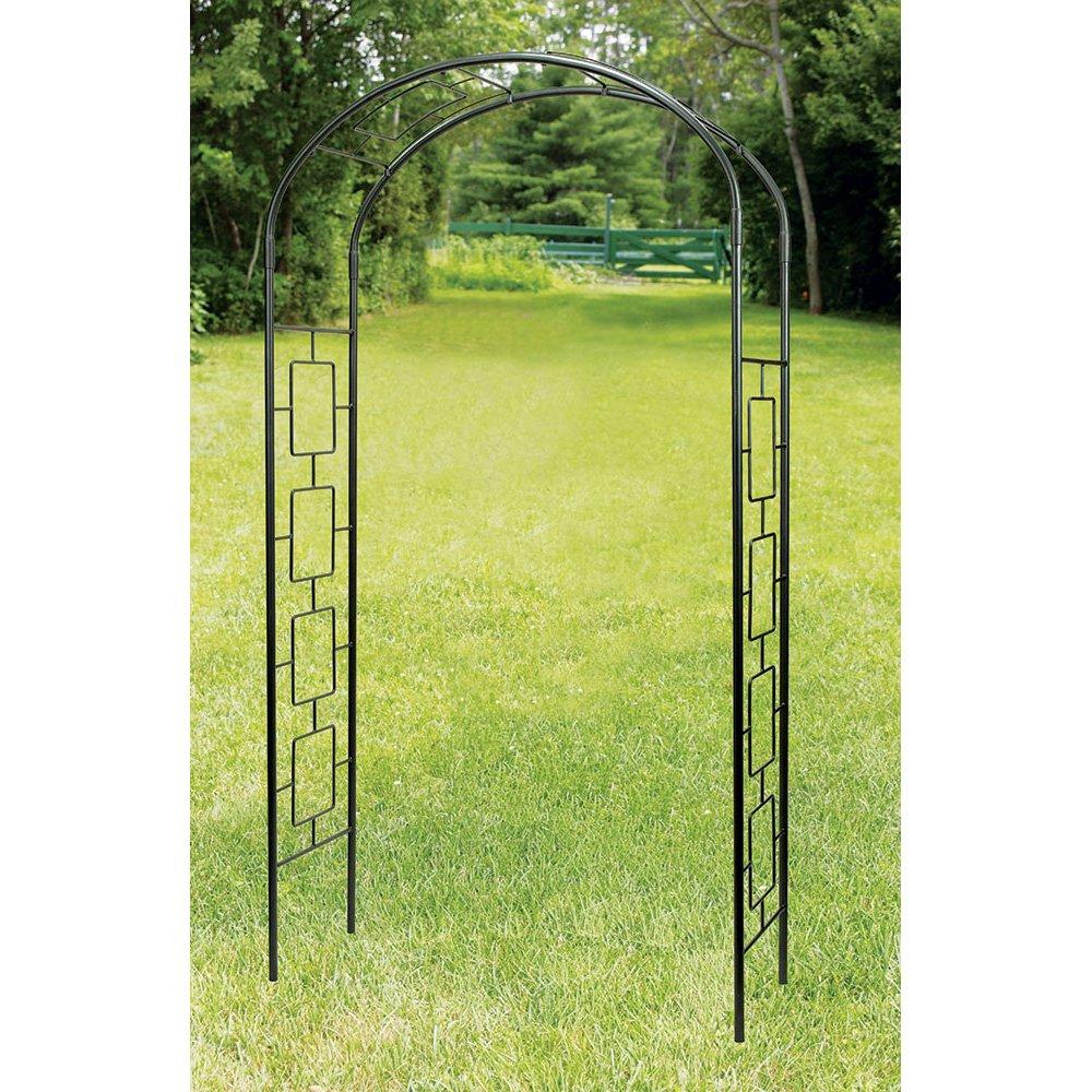 Amazon.com: Achla diseños modernos Arbor arco para jardín ...