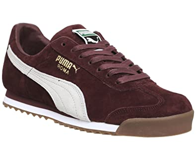 Puma Roma Cabernet Whisper White - 12 UK  Amazon.co.uk  Shoes   Bags 33efce6bd