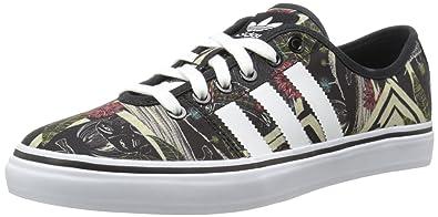 adidas Originals Women's Adria Lo WMN Lace-up Sneaker, Core Black/White/