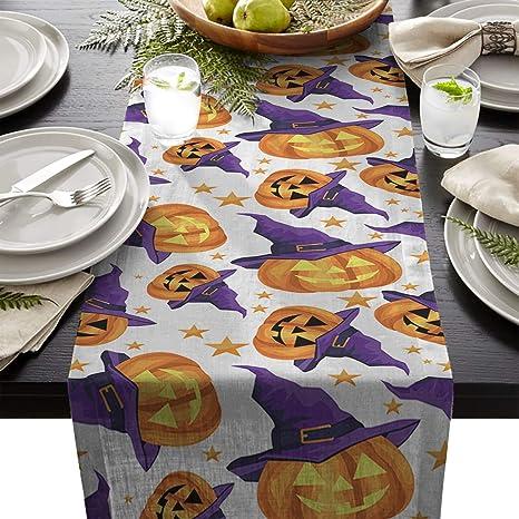 Amazon com: Linen Burlap Table Runner Dresser Scarves