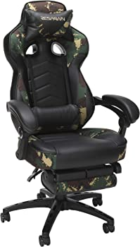 Respawn RSP-110-FST Reclining Gaming Chair with Footrest