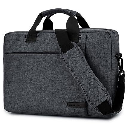 Brinch Funda maletín para portátil universal, tejido estilo Oxford. Bolso para el ordenador portátil Notebook / MacBook ...