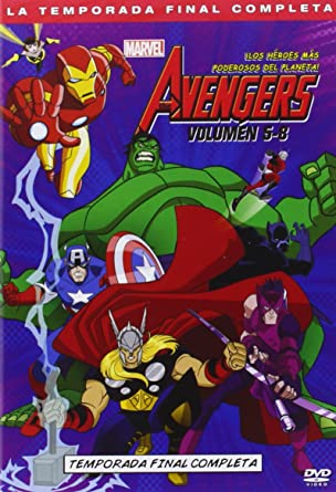 Pack: The Avengers - Volúmenes 5-8 [DVD]: Amazon.es: Eric Loomis ...