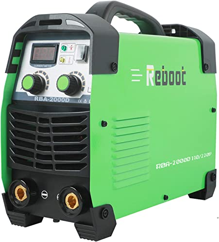 Reboot Arc Welding Machine Stick Welder 110V 220V ARC170 Portable 170AMP MMA Lift Tig Stick Welder IGBT Inverter Arc Welding Machine 1 16 5 32in for Home Usage