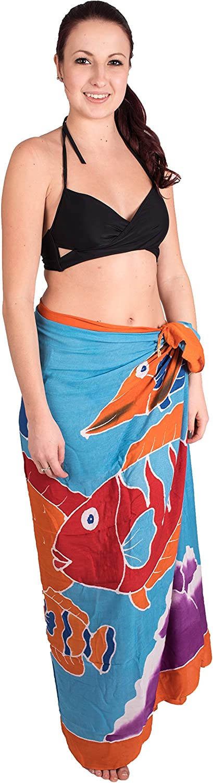 CA 60/modelli Sarong Pareo telo mare asciugamano fasciatura estate colorato modello set gratis fibbia fibbia