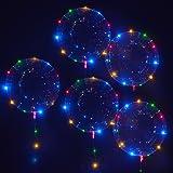 Vktech Pack Of 24 White Led Balloons Lights For Paper