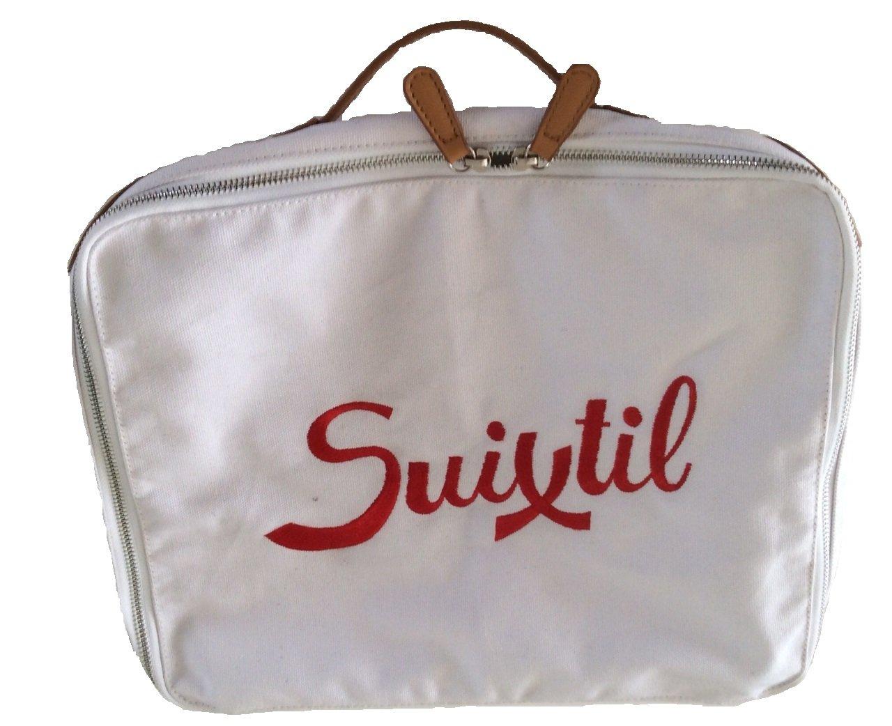 Suixtil Touring Map Bag, White, One size