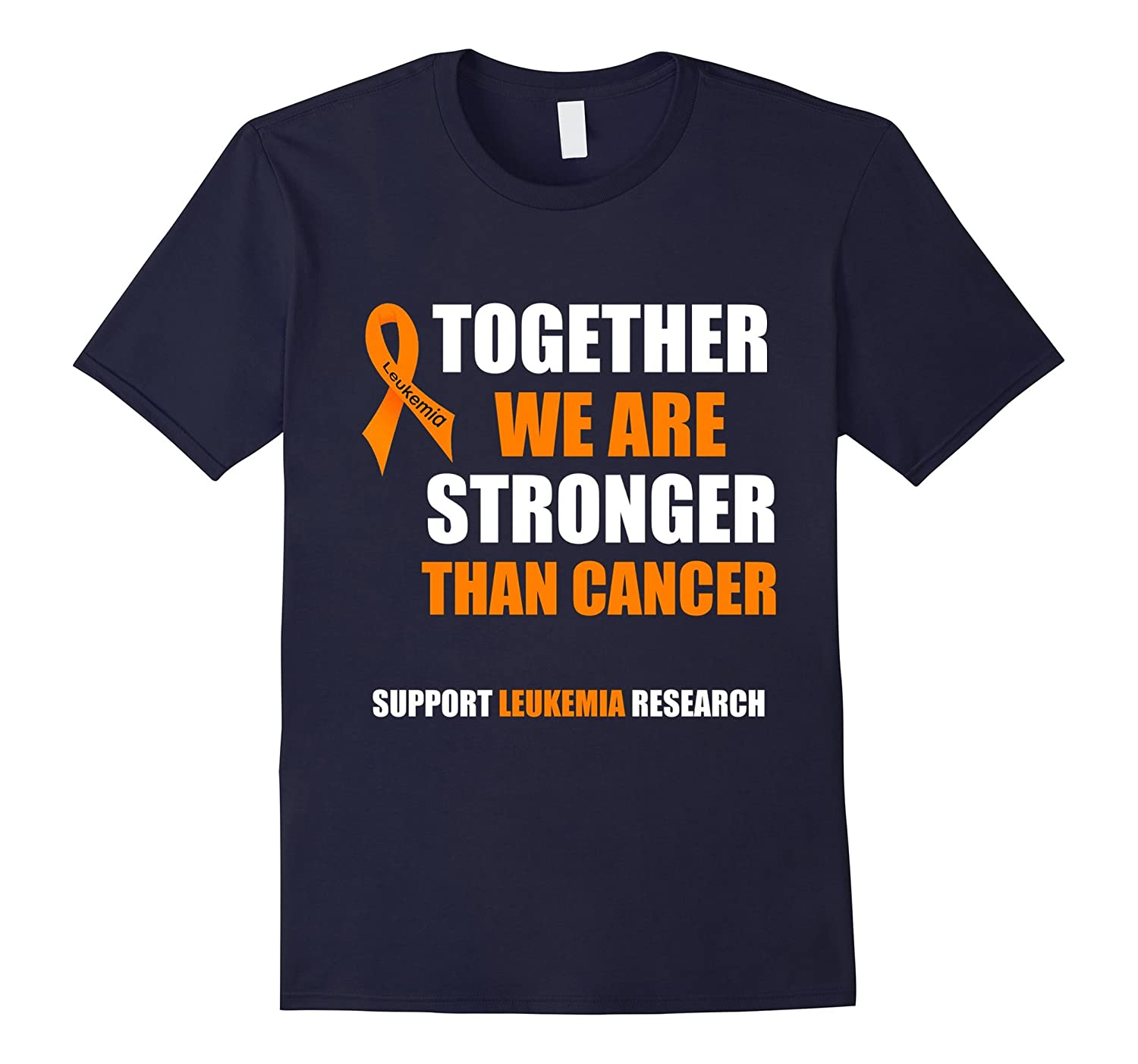 Leukemia Awareness T Shirt  Wear Orange T Shirt-Vaci
