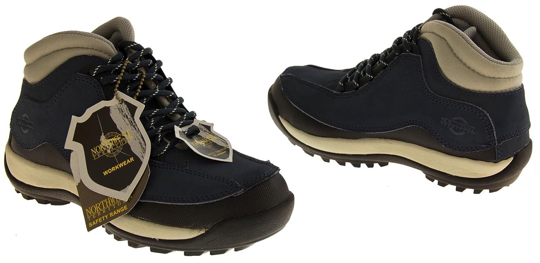 Footwear Studio, Scarpe antinfortunistiche antinfortunistiche Scarpe donnaBlu Marino 1b4d28