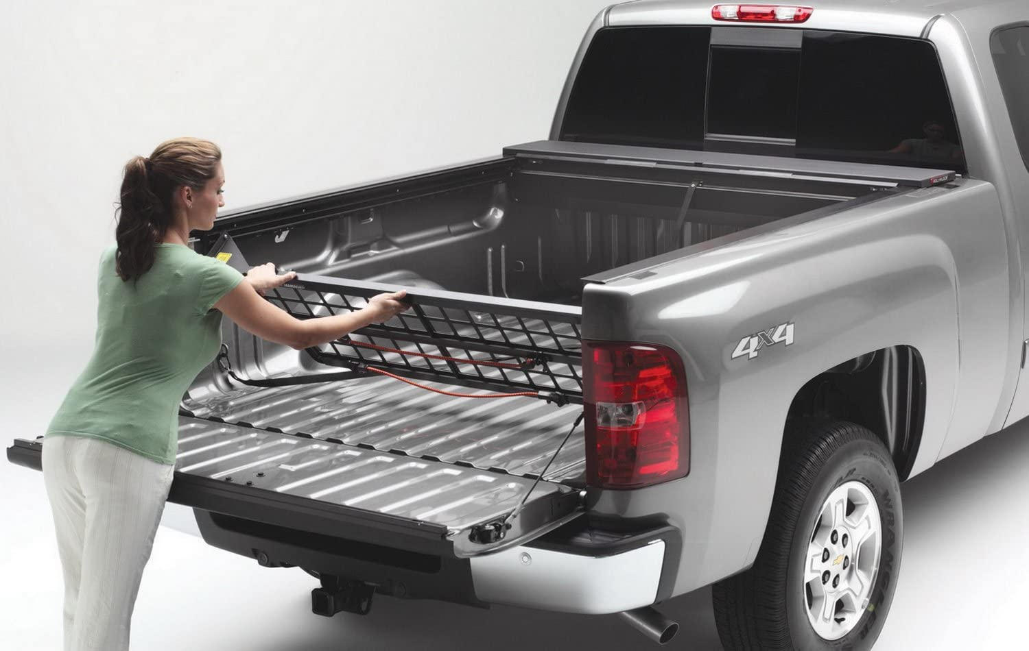 Roll-N-Lock CM447 Cargo Manager Rolling Truck Bed Divider for Dodge RAM 1500 XSB 2009